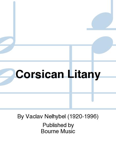 Corsican Litany