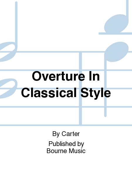 Overture In Classical Style