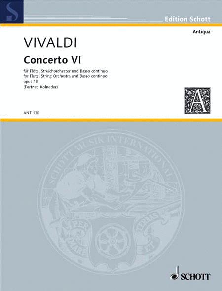 Concerto No. 6 RV 437/PV 105