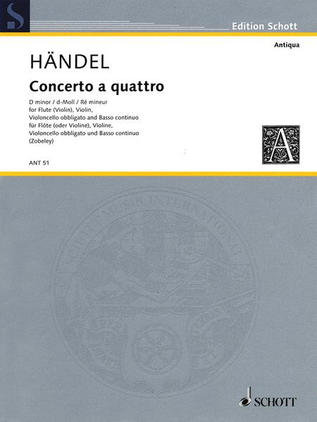 Concerto a Quattro D Minor