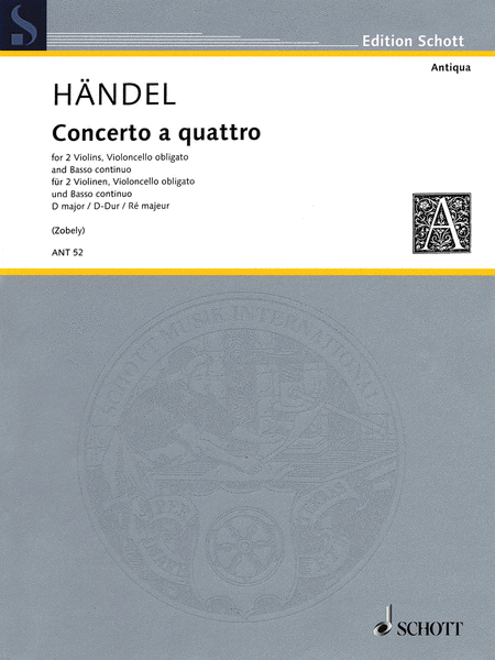 Concerto a Quattro D Major