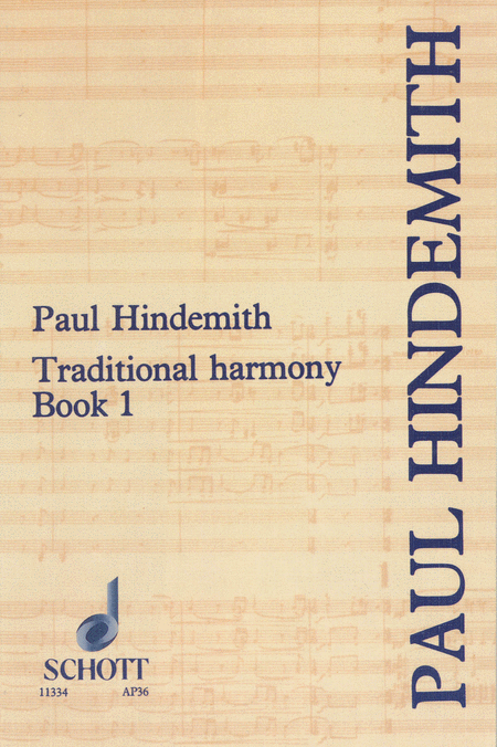 Traditional Harmony Book 1