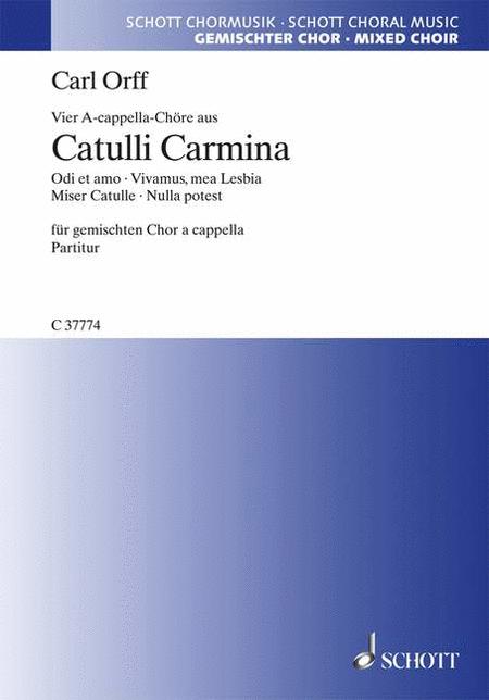 4 A Cappella Choruses