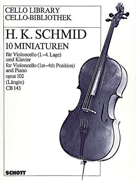 Minatures 10 Cello & Piano