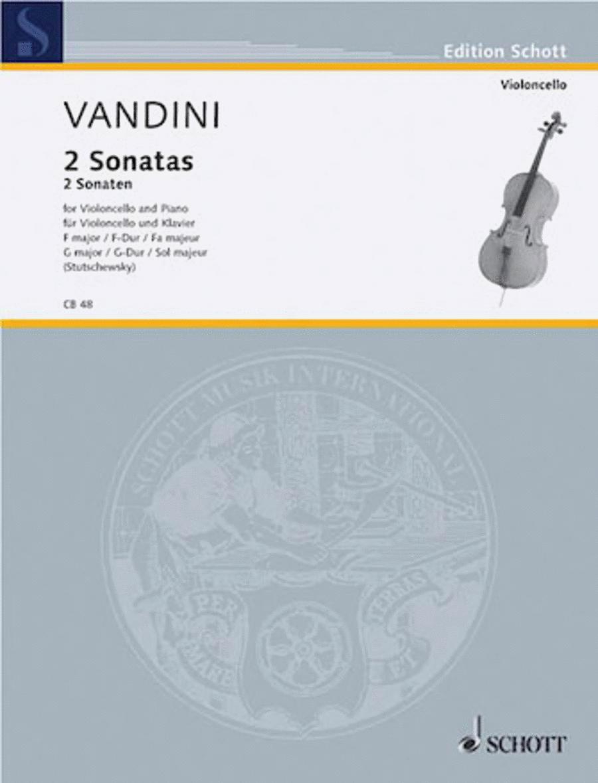 Sonatas in F Major and G Major