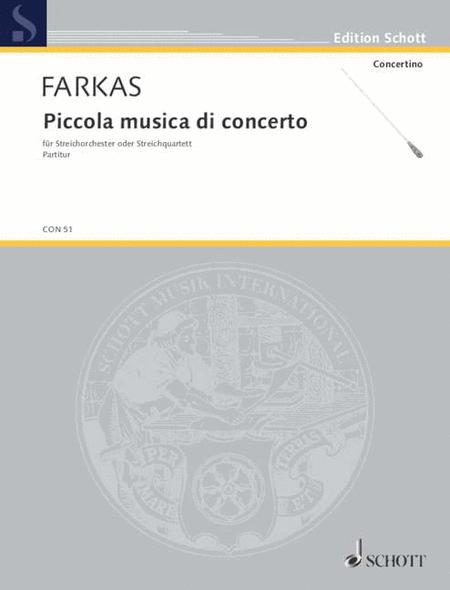 Piccolo Musica Da Concerto