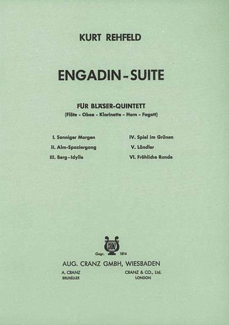 Engadin Suite Wind Quintet Sc/pts