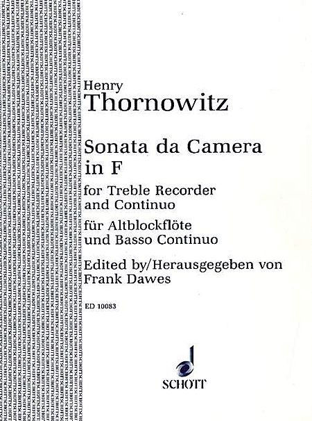 Sonata Cam In F - Horn Part