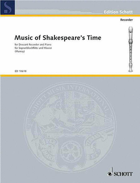 Music of Shakespeare's Time