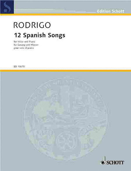 12 Spanish Songs (1951)
