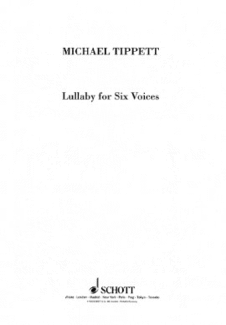 Lullaby for Six Voices