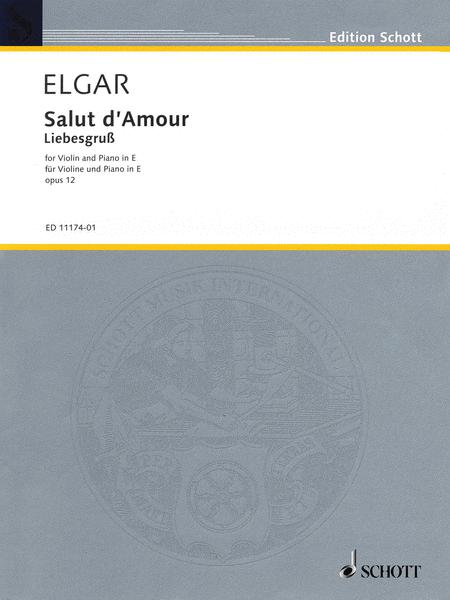 Salut d'Amour in E Major, Op. 12, No. 3