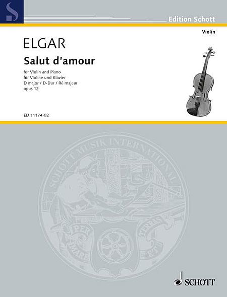 Salut d'Amour in D Major, Op. 12, No. 3
