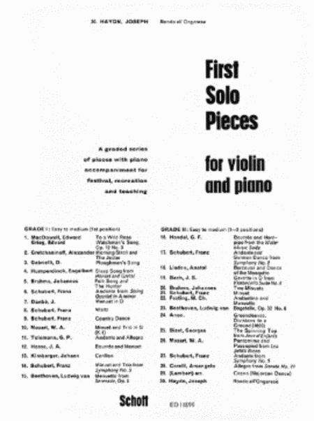 Rondo All'ongarese from the Piano Trio in G, Hob. XV:25