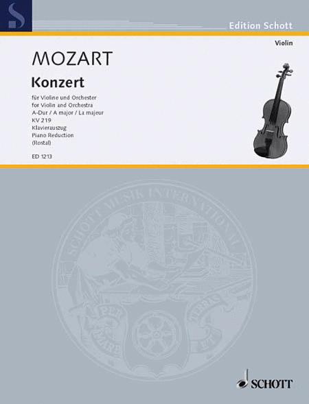 Violin Concerto 5 A Major K. 219