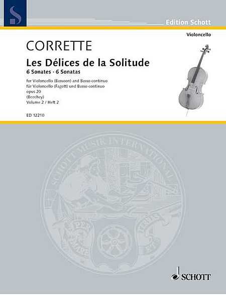 Les Delices de la Solitude, Op. 20