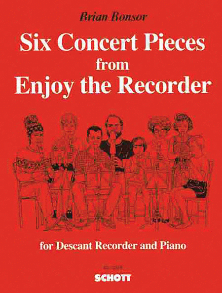 6 Concert Pieces from Enjoy the Recorder