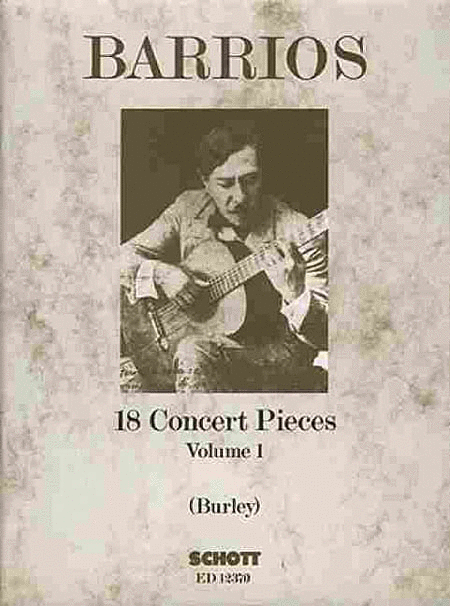 18 Concert Pieces for Solo Guitar - Volume 1