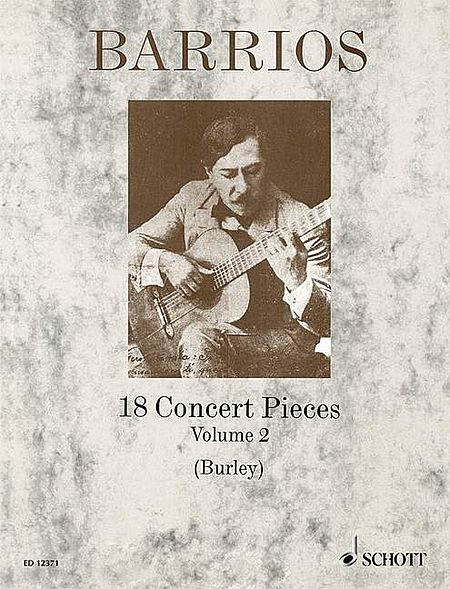18 Concert Pieces for Solo Guitar - Volume 2