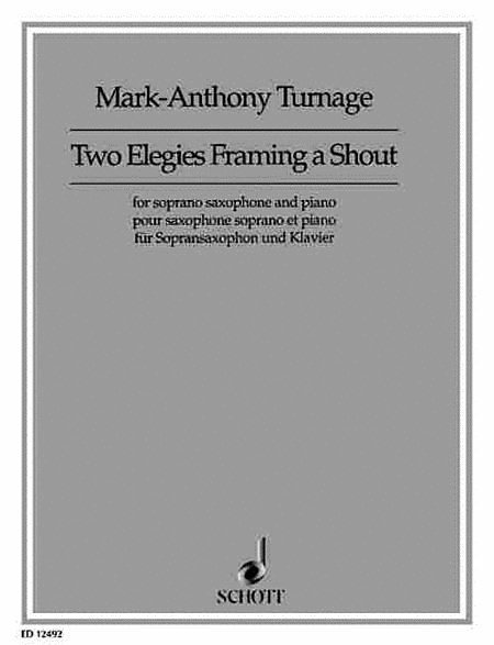 Two Elegies Framing a Shout