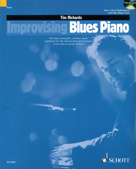 Improvising Blues Piano by Tim Richards - review and discussion