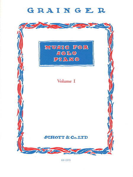 Music for Solo Piano - Volume 1