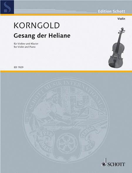 Gesange Der Heliane ( From Opera Das Wunder Der Heliane)