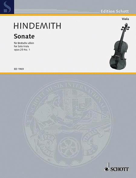 Sonata, Op. 25, No. 1 (1922)