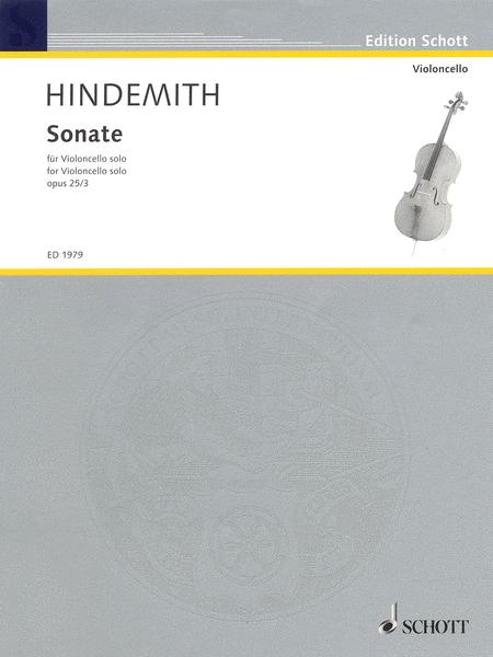 Sonata, Op. 25, No. 3 (1922)