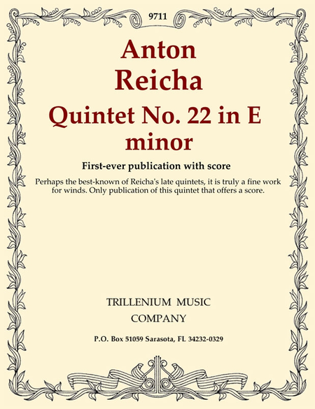 Quintet No. 22 in E minor