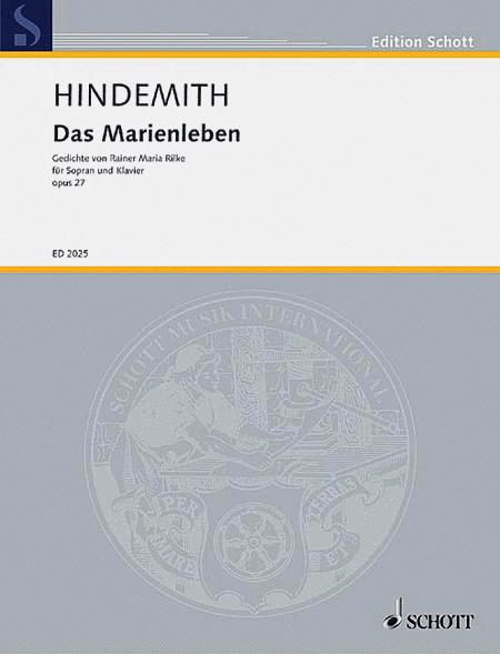 Das Marienleben Op. 27 - Original Edition