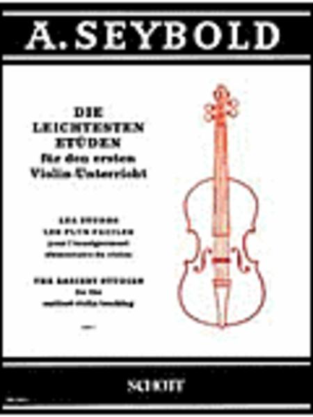 Easiest Violin Etudes Vol. 1