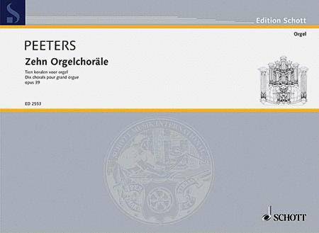 10 Organ Chorales Op. 39