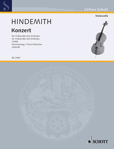 Cello Concerto (1940)
