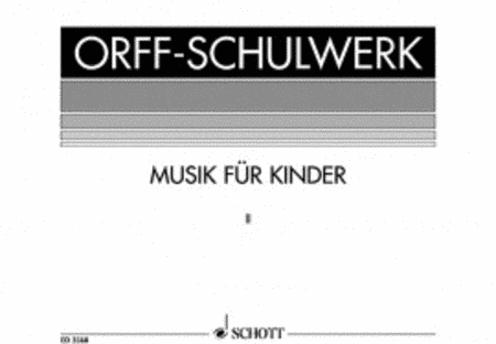 Musik fur Kinder Vol. 2 - Dur: Bordun-Stufen