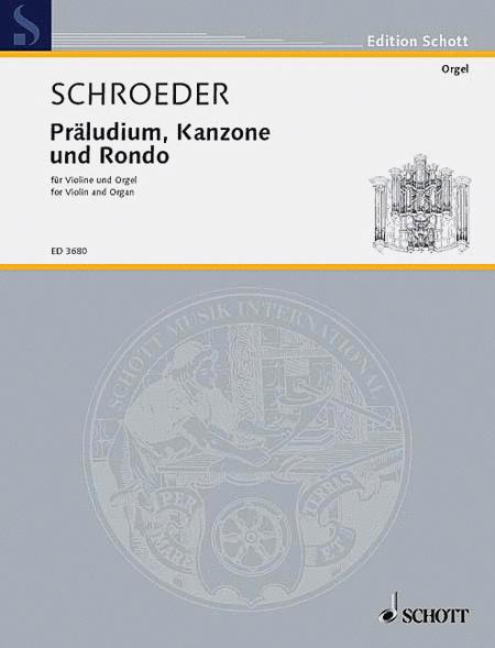 Prelude Canon and Rondo