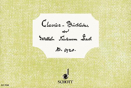 Little Notebook for Wilhelm Friedemann Bach