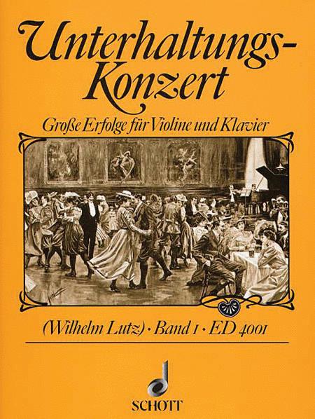 Unterhaltungs-Konzert - Volume 1