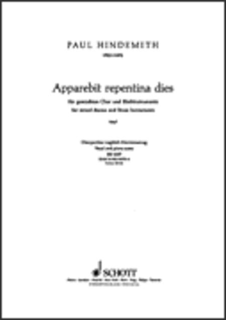 Apparebit Repentina Dies (1947)