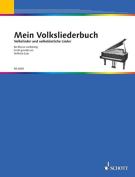 Mein Volksliederbuch Pf/4hands