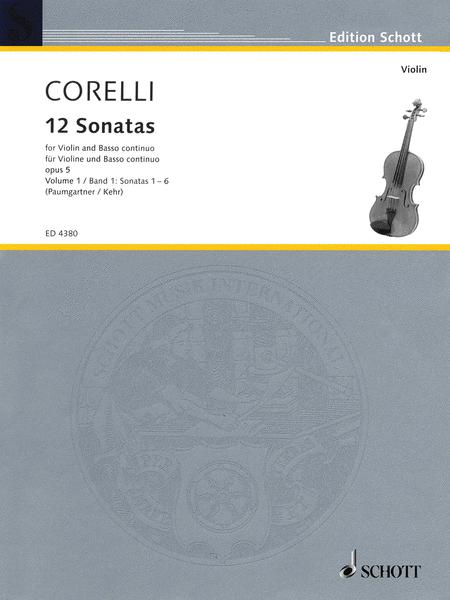 12 Sonatas, Op. 5 - Volume 1