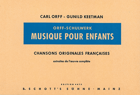 Music for Children - French Edition
