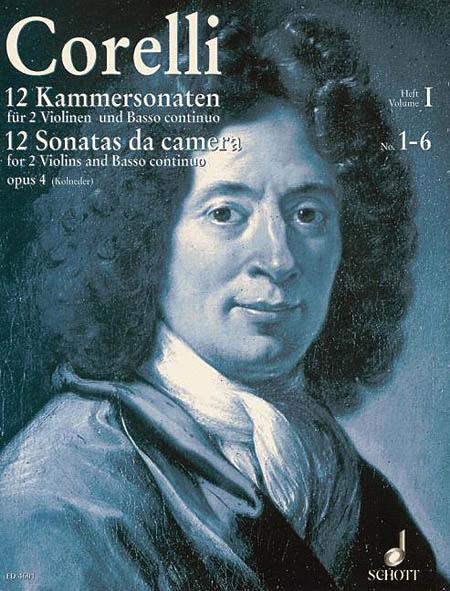 12 Chamber Sonatas, Op. 4 - Volume 1
