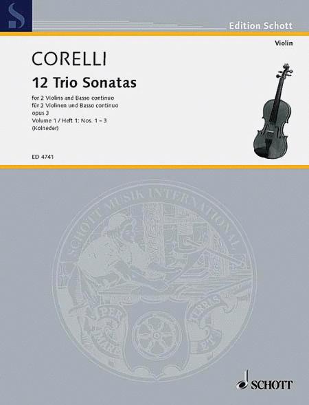 Trio Sonatas Op. 3, Nos. 1-3