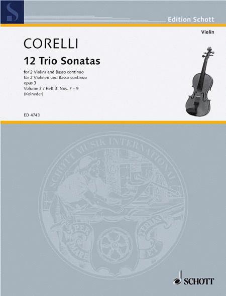 Trio Sonatas Op. 3, Nos. 7-9