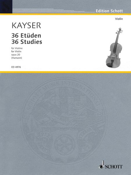 kayser elementary and progressive studies for the violin pdf