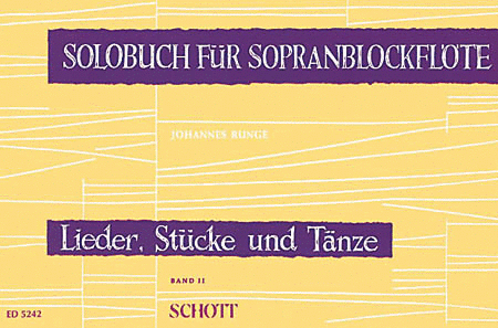 Solo Book For Soprano Recorder V.2