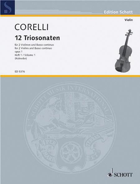 12 Trio Sonatas Op. 1, Nos. 1-3