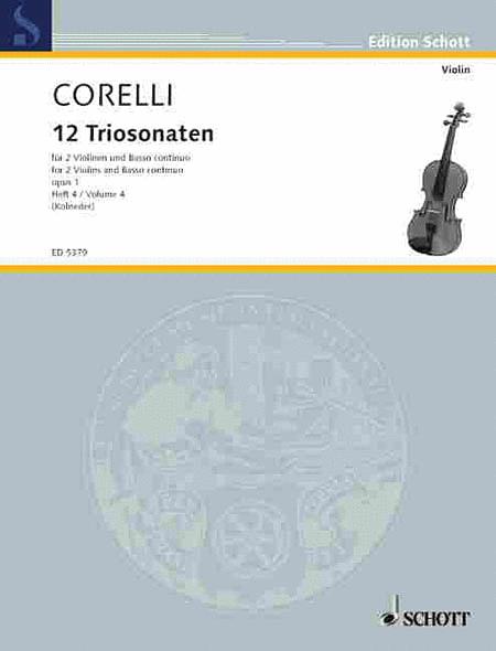 12 Trio Sonatas Op. 1, Nos. 10-12