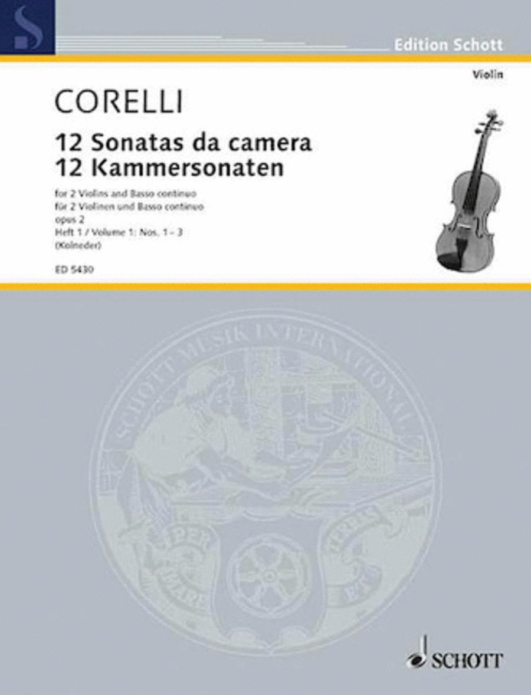 12 Trio Sonatas Op. 2, Nos. 1-3